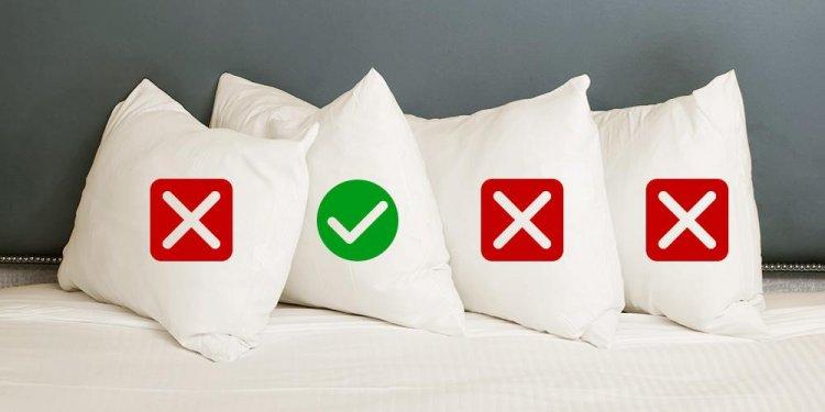 Choosing a pillow