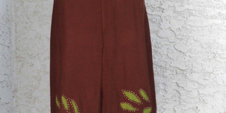 Alabama chanin inspired skirt