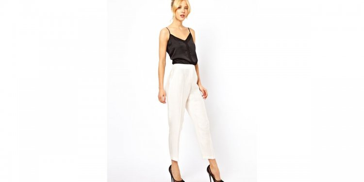 Asos Evening Peg Trousers in