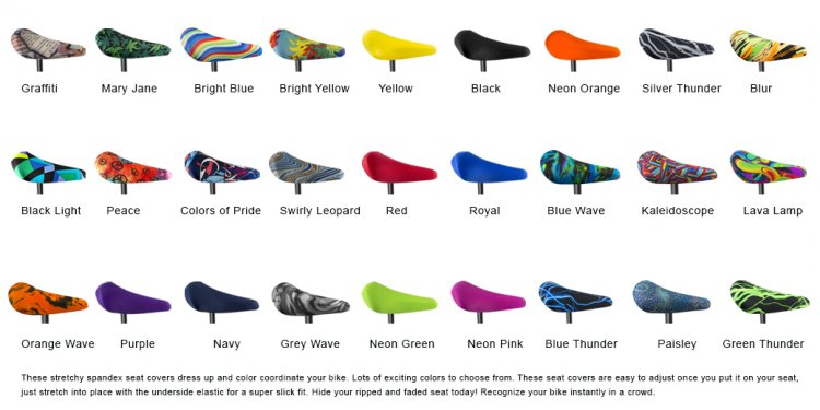Lycra Seat Covers - Spandex