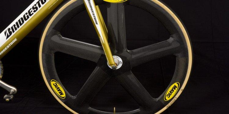 Bridgestone Anchor Sprint Track Bike with Mavic Wheels