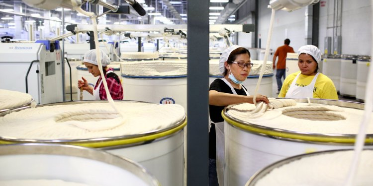 Chinese Textile Mills Are Now