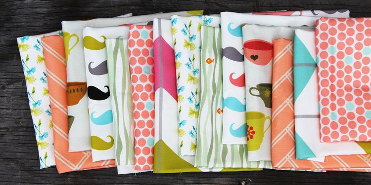 Spoonflower Fabric Stack