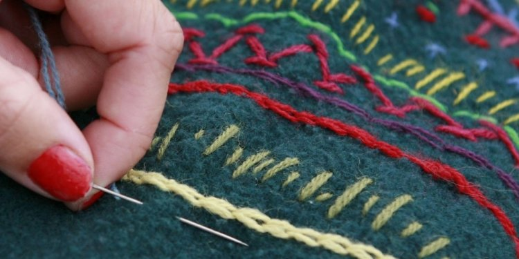 Hand Embroidery Lesson