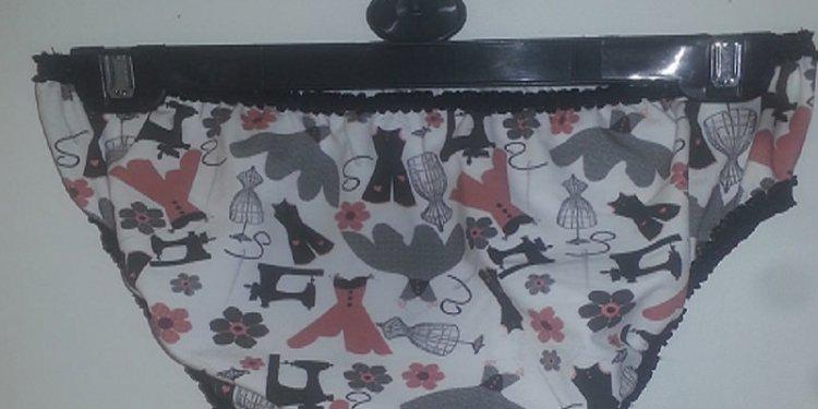 Dressmaker Ditsy Fat Quarter Panties