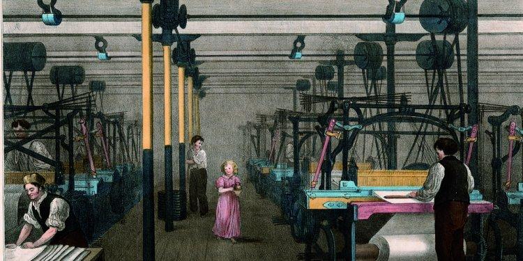 The Progress of Cotton No. 10: Weaving, 1840