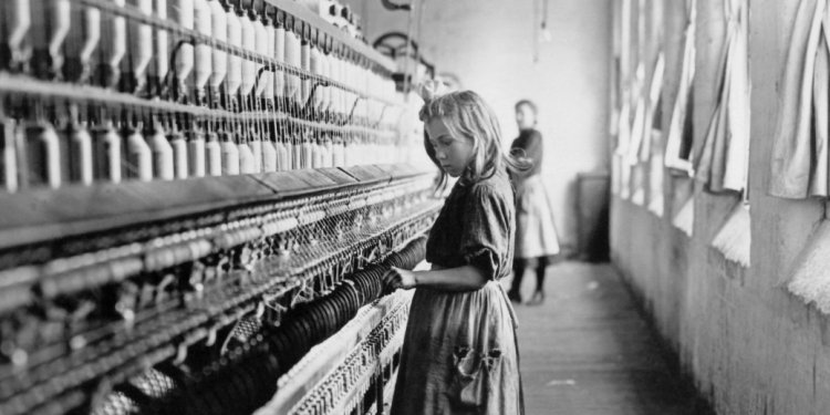 Child labor laws, cotton mill