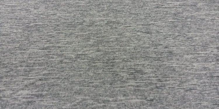 Poly heather grey jersey