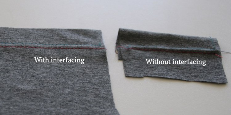 Get a perfect twin needle hem