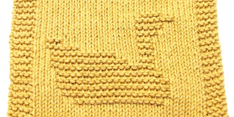 Knitting Cloth Pattern - GOOSE - PDF