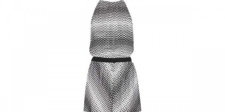 Missoni Crochet-Knit Playsuit