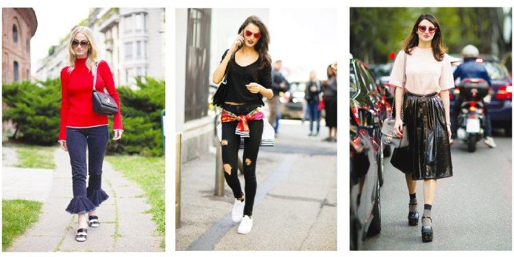 Street style, fashion week