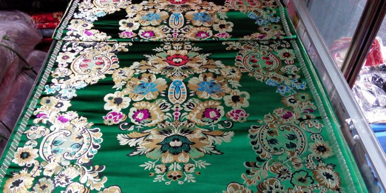 Fabric cheongsam brocade