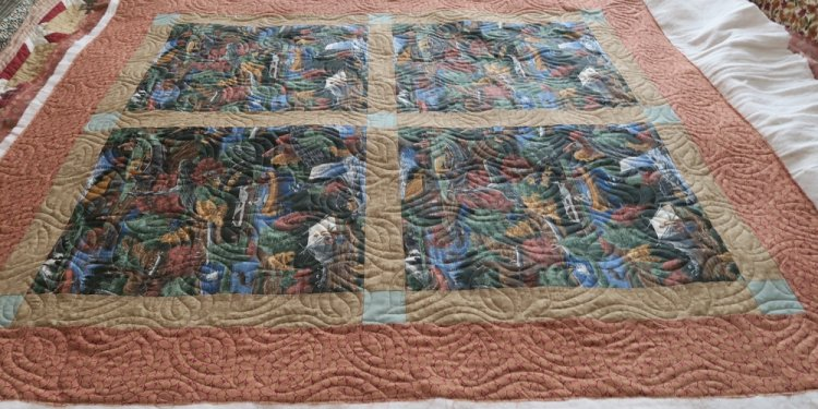 Ground Cover on a Quilt