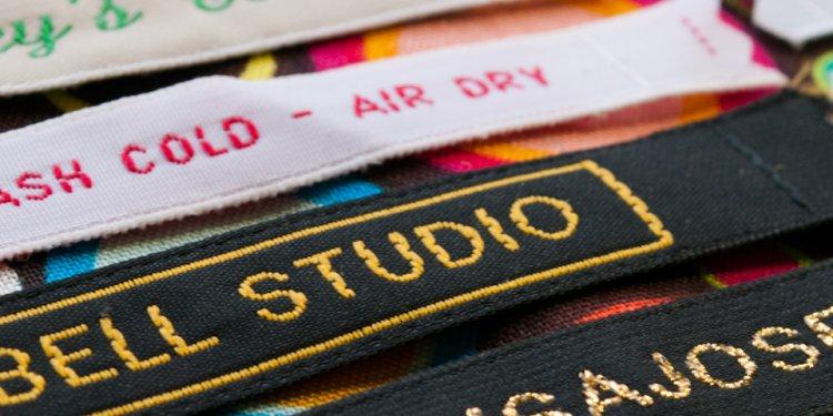 Woven Designer Labels