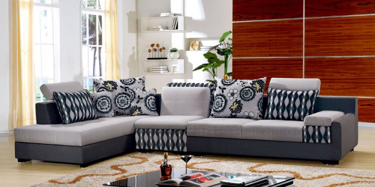 Printed upholstery fabric for