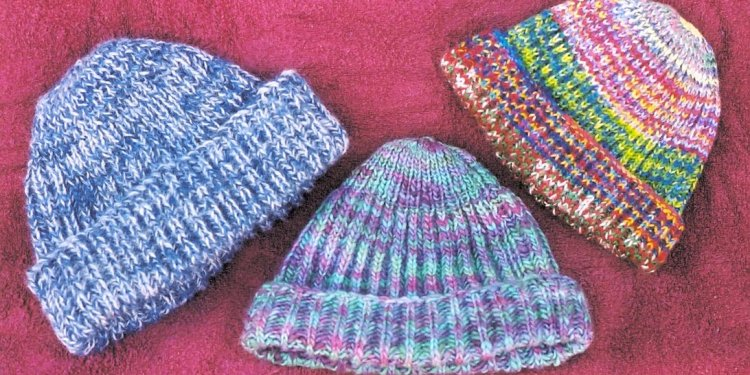 The resulting fabric knits up