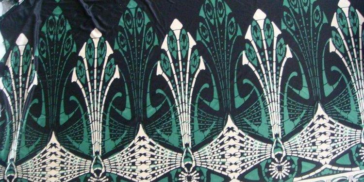 China Silk Jersey Print Fabric