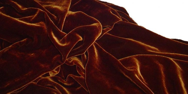 SILK VELVET fabric 28 percent