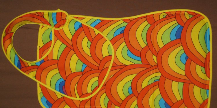 Sunrise Bib Burp Cloth