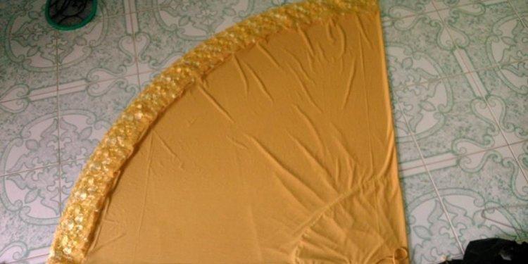 Telekung lycra lace (spandex)