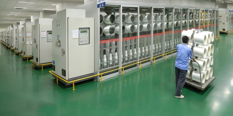 The textile machinery industry