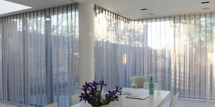 Voile curtains and Window