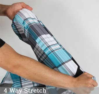 4 way stretch boardshorts