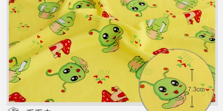 Printed cotton Jersey fabric