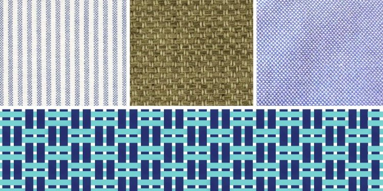 Examples of Twill weave Fabrics
