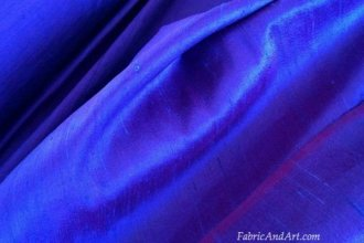 blue silk dupioni