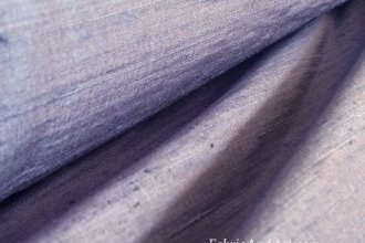 Blue silk dupioni fabric
