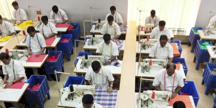 Manufacturing of clothes