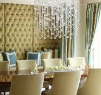 contemporary dining room upholstered dining chairs