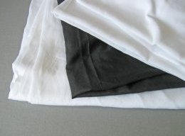 Cotton voile linings