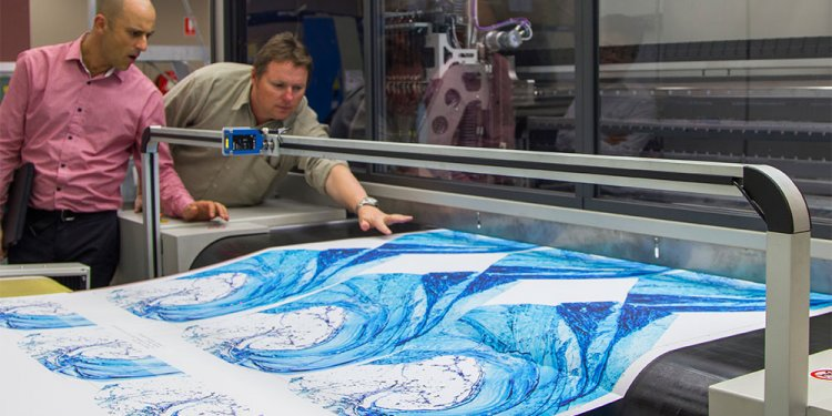 Digital fabric printing Sydney