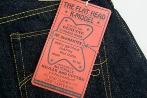 Flat Head Kevlar Denim
