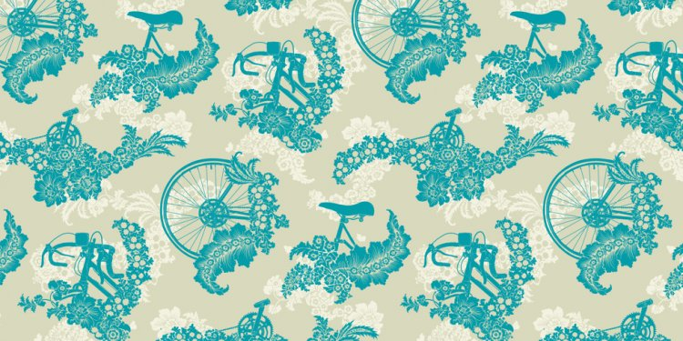 Screen Printed Wallpaper