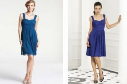georgette ann taylor and dessy bridesmaid dresses