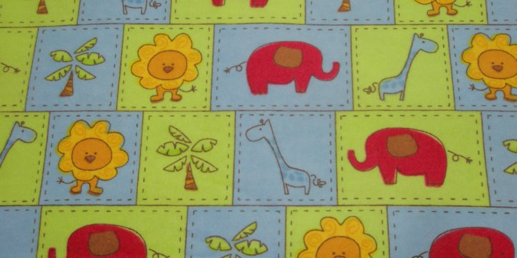 Giraffe Print Fleece Fabric