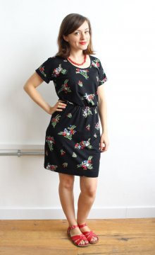 Jersey Bettine dress - sewing pattern from Tilly and the Buttons
