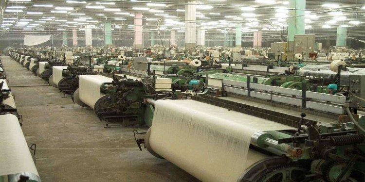 Major textile Industries in India