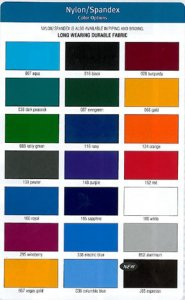 Nylon Spandex Plain Colors