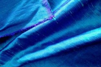 peacock blue silk dupioni fabric