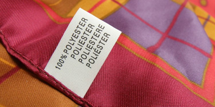 What clothes are made from polyester?