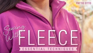 sewing with fleece