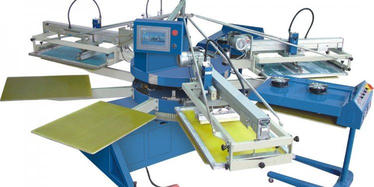 Textile Screen printing machine