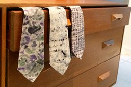 Ties designed by Sophie Collom