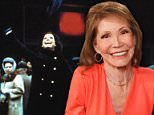 Tragic: Television icon Mary Tyler Moore has died aged 80. She was first reported to be in 'grave condition' at a hospital in Connecticut on Wednesday. She is pictured above in 2013