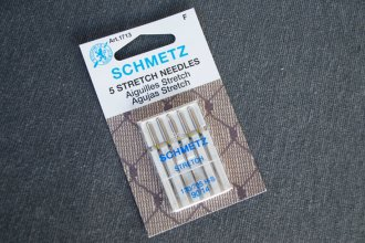Use stretch needles for ponte fabric sewing | Indiesew.com